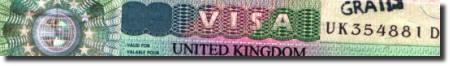 Виза за Великобритания